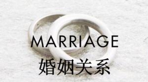 核心课程:婚姻关系